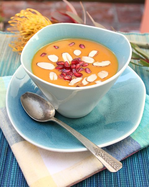 Chai Spiced Sweet Potato Bisque | Recipe