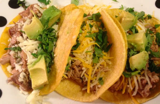 """Pork Carnitas Tacos-- @Amy Shade says: """"I did this in my crockpot and ..."""