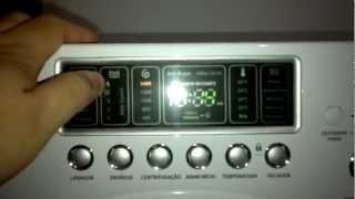 Lava e seca Electrolux Eco Turbo 9kg (LSE09) - Apresentação, via YouTube.