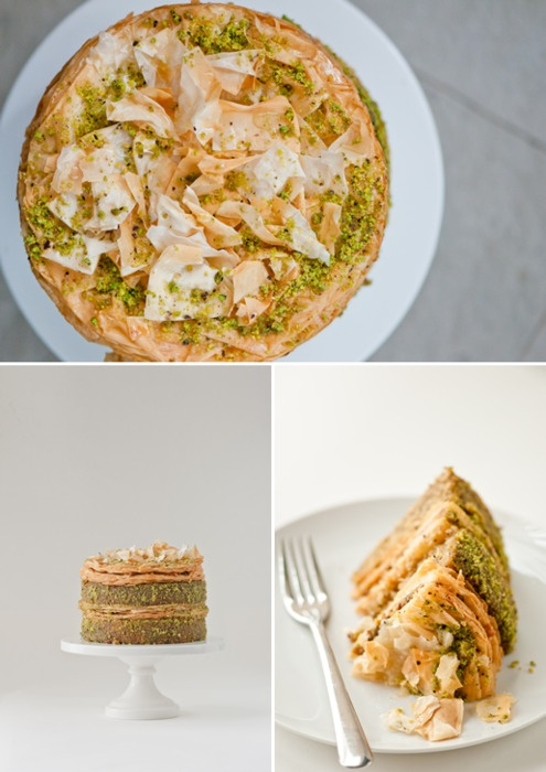 Pistachio Baklava | Favorite Recipes | Pinterest