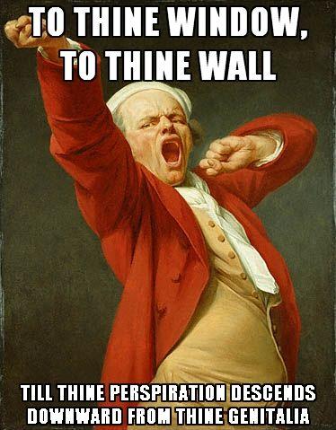I shall sing!