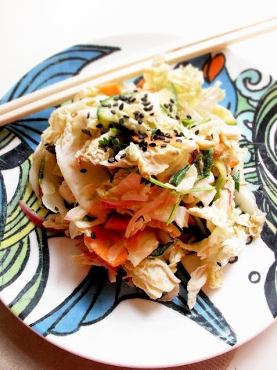 Asian-inspired coleslaw | Chow Time | Pinterest
