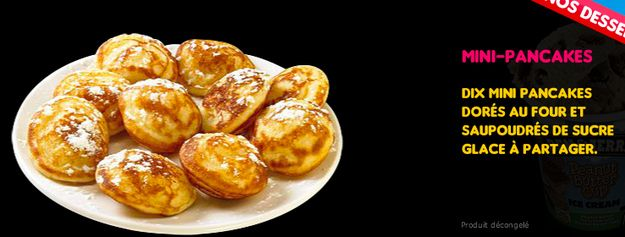 Mini-Pancakes — Domino's Pizza | 15 French Fast Foods That Shouldn ...
