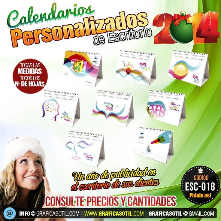 Calendarios de Escritorio personalizados 2014 en Lima Perú