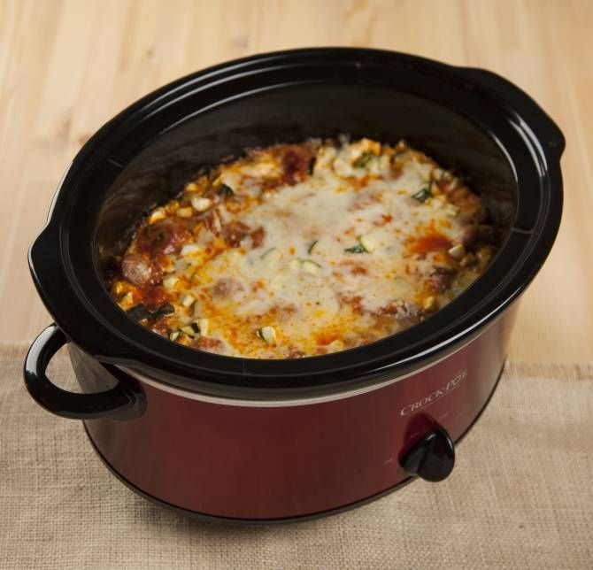 Slow-cooker Lasagna | food to try | Pinterest
