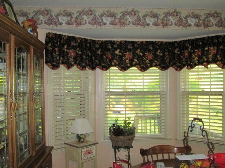 Kitchen Curtains #2 | My Dream Tuscan kitchen | Pinterest