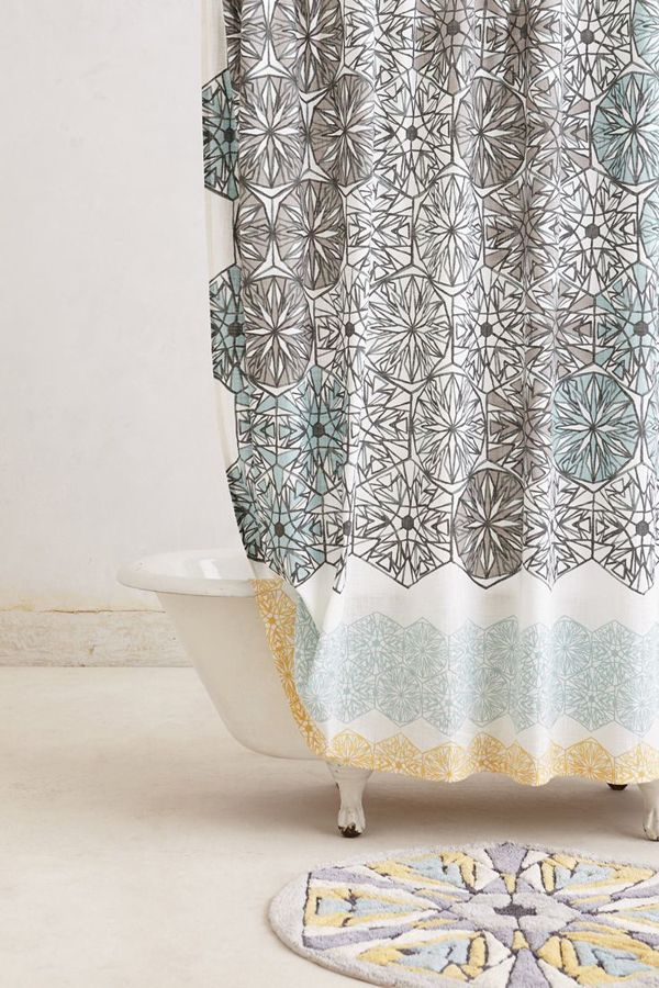 shower curtain from anthropologie grow up pinterest