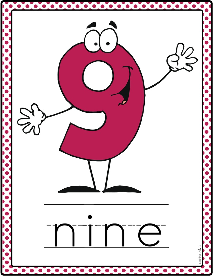 alphabet and number posters kindergarten math pinterest. Black Bedroom Furniture Sets. Home Design Ideas