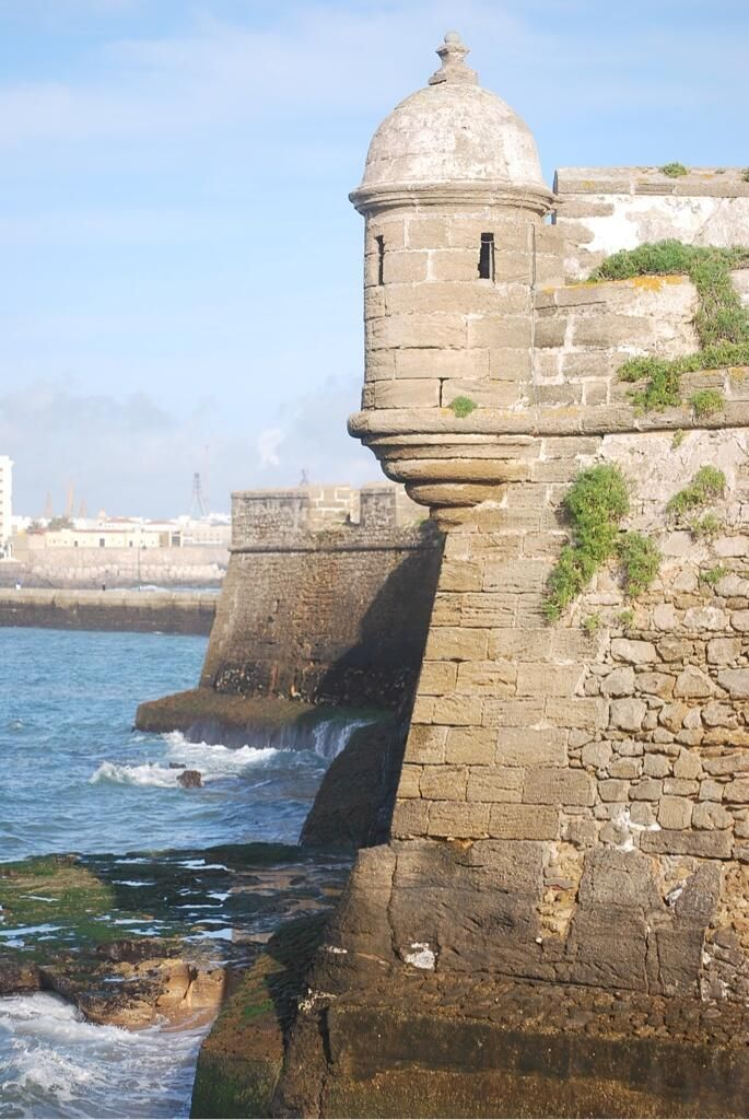 Detalles de Andalucía: baluartes defensivos de Cádiz / Andalusian details: defensive bastions of Cádiz, by @HistoriadeCadiz