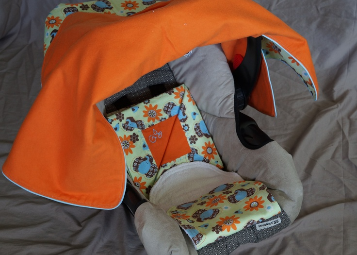 Elephant Car Seat Cover Bundle