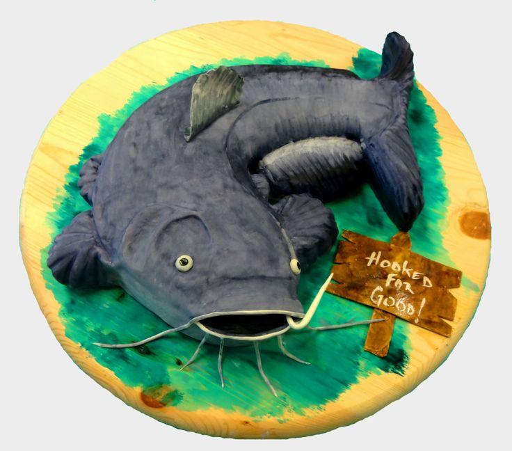 catfish birthday cake