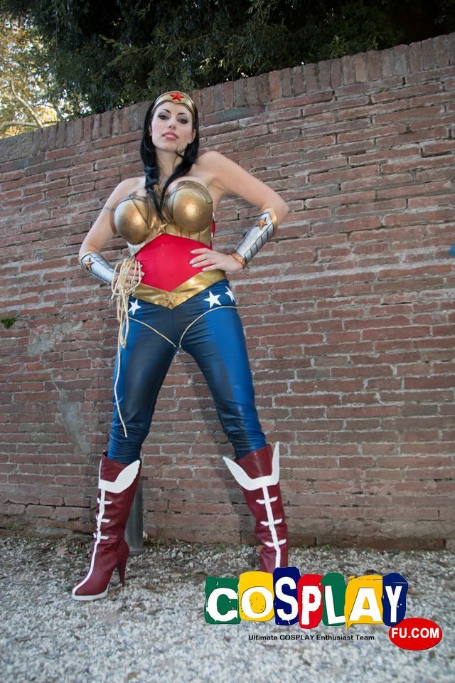 Princess diana cosplay from wonder woman at lucca comics and games