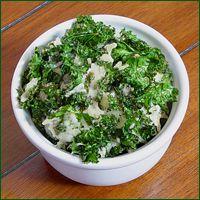 Baked Parmesan Kale Chips Recipe | Cancer fighting foods | Pinterest