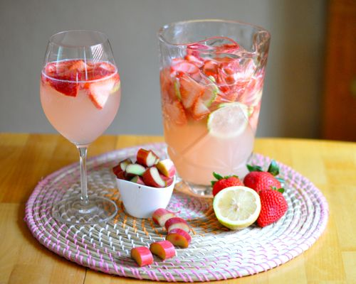Seasonal Sweetheart: A spring sangria! | Food and drink | Pinterest
