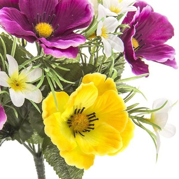 Flores artificiales mini an monas flores artificiales - Plantas artificiales para decoracion ...