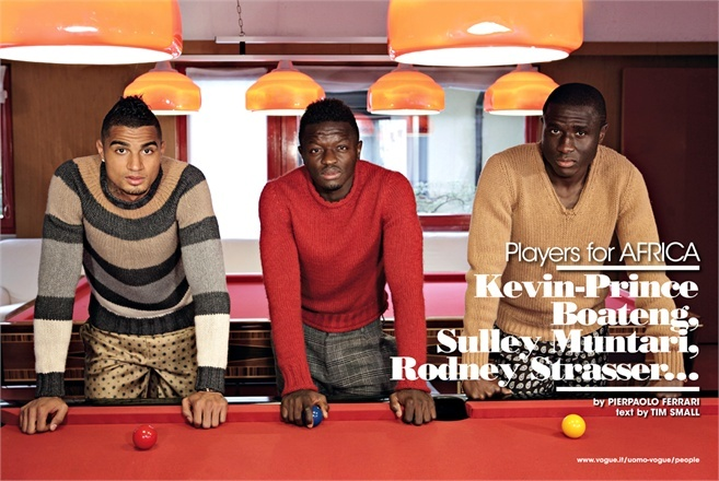 Kevin-Prince Boateng  Sulley Muntari  Rodney Strasser and Clarence    Kevin Prince Boateng Parents