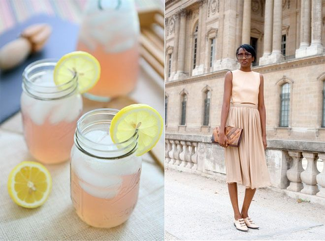 old fashioned pink lemonade / streetstyle aesthetic | food + fashion ...
