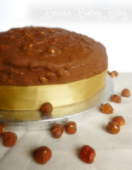 Ferrero Rocher Milk Chocolate With Hazelnut Cake Recipe — Dishmaps