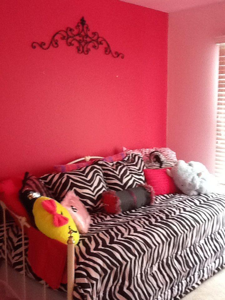 Girls Zebra Bedroom Zebra Bedroom Ideas Pinterest