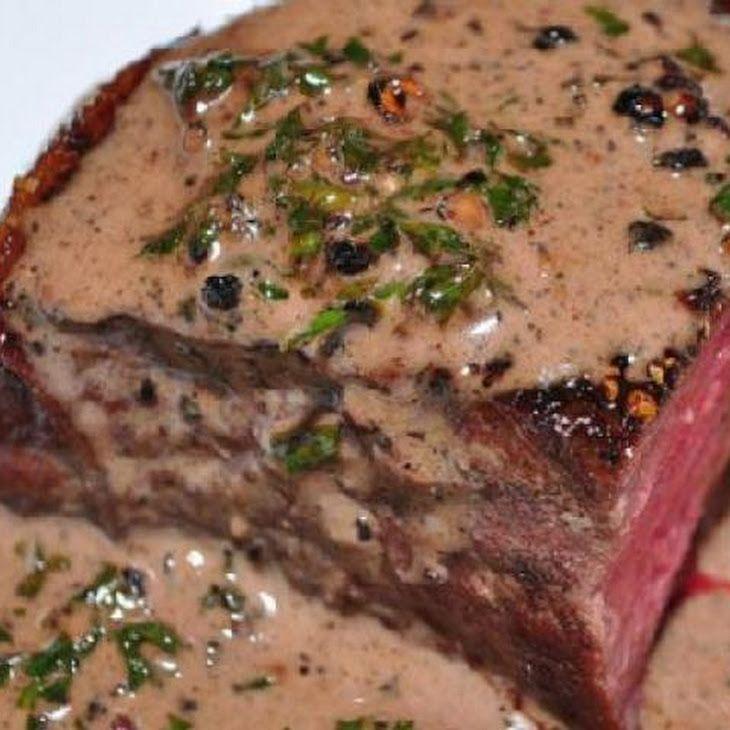 Filet Mignon with Red Wine-Horseradish Sauce | Recipe