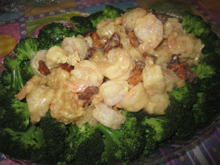 Honey Walnut Glazed Shrimp | Recipes to try | Pinterest
