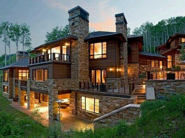 Winter Cabin Gone Extreme Dream Homes Pinterest