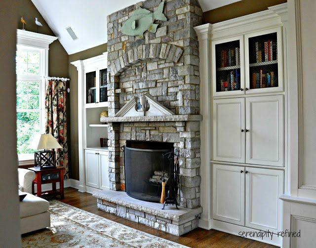 built in cabinets around the fireplace home pinterest