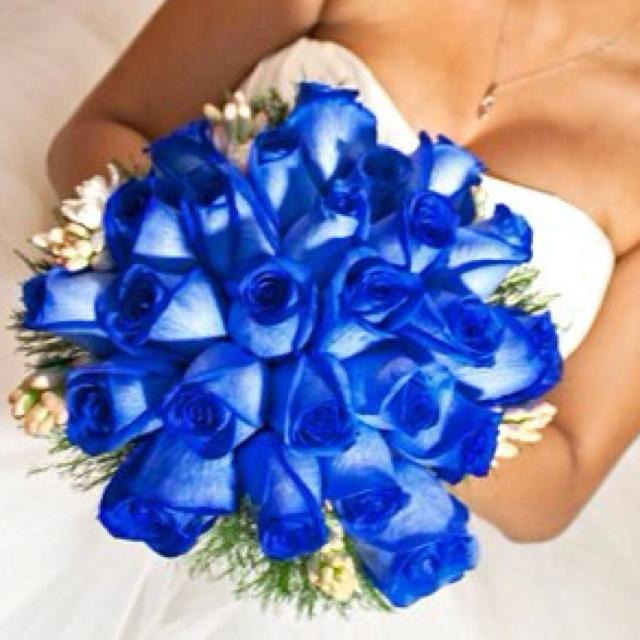 Royal Blue Bouquet
