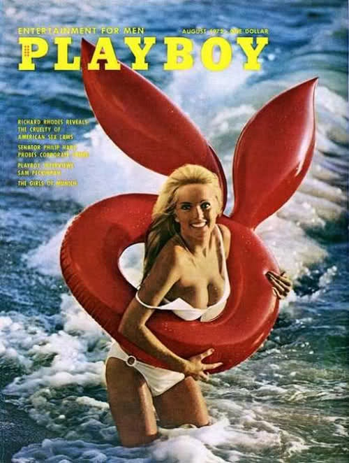 Vintage playboy cover
