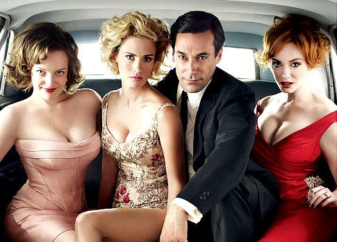 Mad Men rolling stone shoot