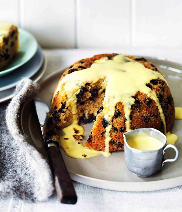 Chocolate rum and raisin steamed pudding | The Bakery | Pinterest