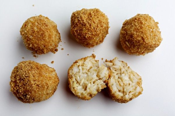 ... be frozen in balls for up to 3 months! Genius!! ~ Sesame Rice Balls