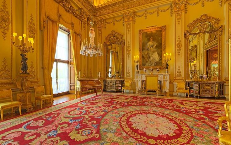 gallery for buckingham palace white drawing room