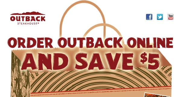 outback coupons for father's day