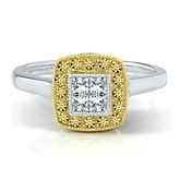 Helzberg Limited Edition® 12 ct. tw. Princess Cut Diamond Engagement ...