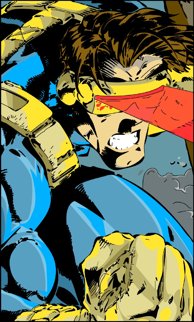 Comic Book Cover Tutorial Illustrator : Vector image from comic book cover adobe illustrator