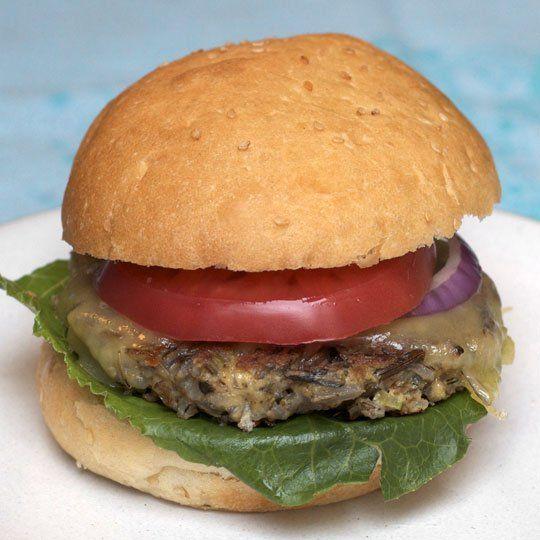 Wild Rice Burgers | Recipe