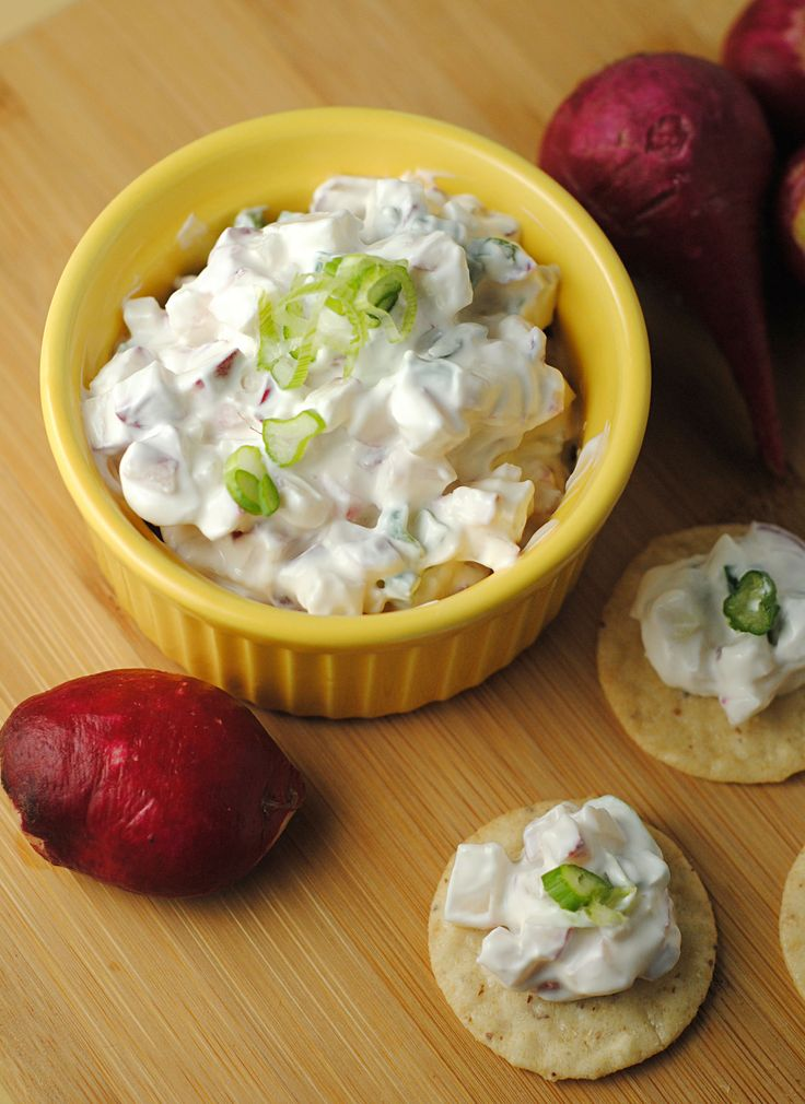 Healthy Snacking with Creamy Radish Dip ~ #RecipesFromTheHeart ...