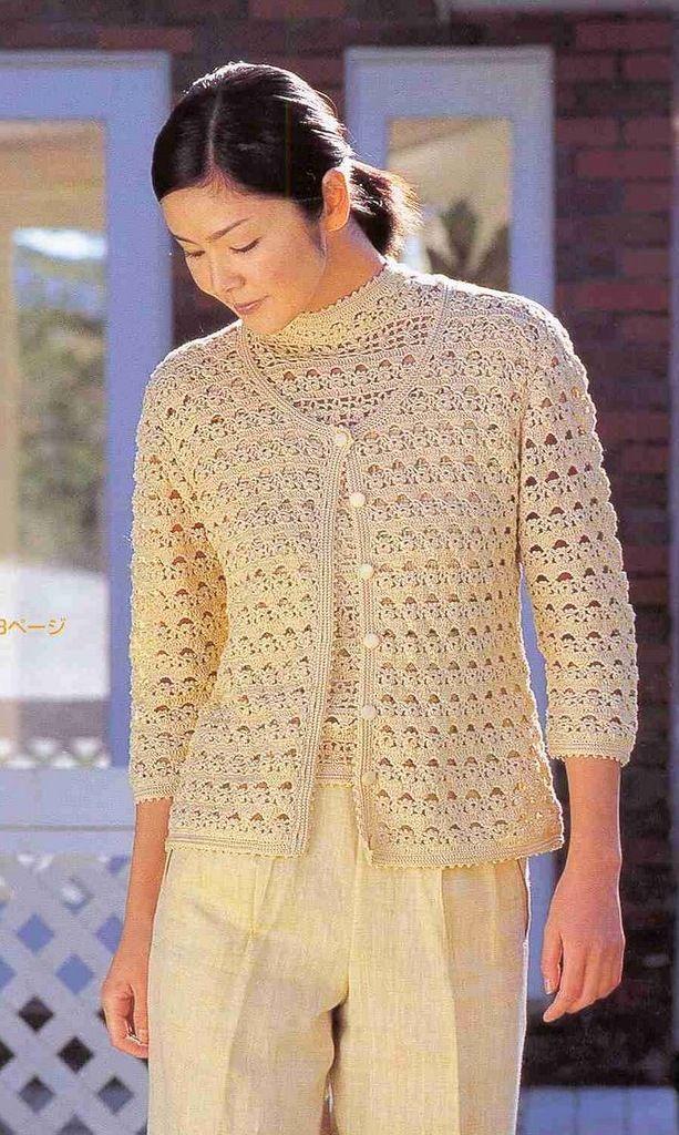 Pinterest Crochet Blouse Patterns 28