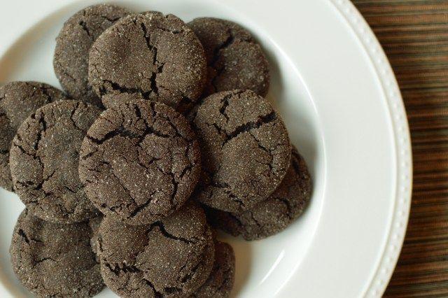 Chewy Chocolate Sugar Cookies | Food | Pinterest