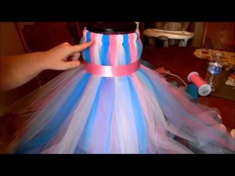 Оригинальные платья для девочки своими руками