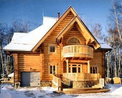 Dream Log Cabin Home My Wish List Pinterest