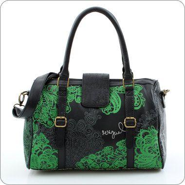 desigual tasche big bag tattoo negro flowerpower taschen pinterest. Black Bedroom Furniture Sets. Home Design Ideas