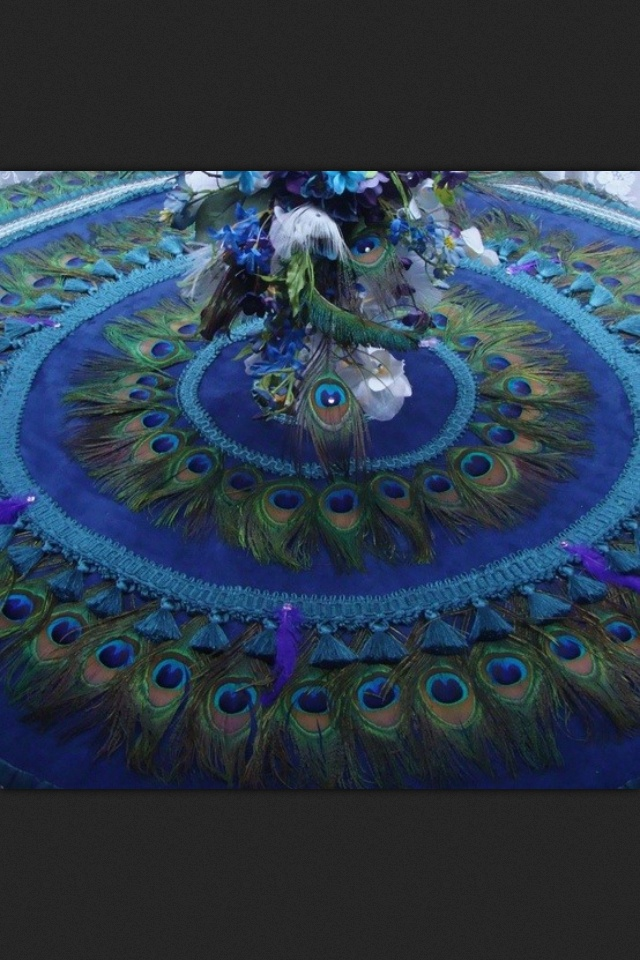 Peacock tree skirt peacocks pinterest