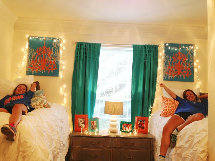 Pin by Monica Maloney on College  Pinterest ~ 135947_Turquoise Dorm Room Ideas