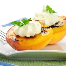 Grilled Peaches with Balsamic-Honey Glaze #healthytimes http ...