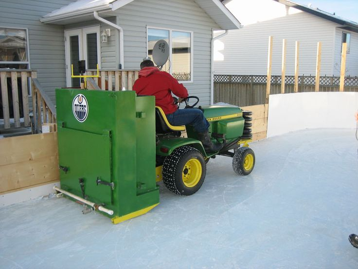 Backyard Rink Zamboni : My zamboni for our Michigan home  Future Projects  Pinterest