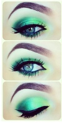 Cairns Makeup Artist Green Eye Makeup Inspiration