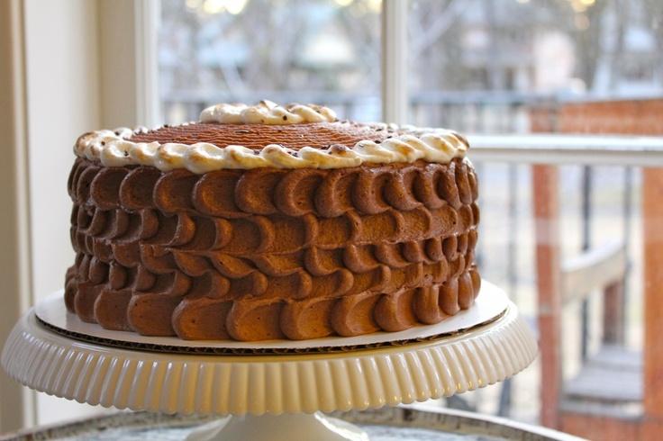 chocolate malt marshmallow cake | Sweet Treats | Pinterest