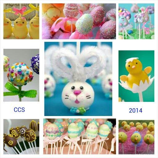 Easter Cake Pop Decorating Ideas Easter Pinterest